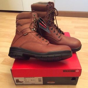 Wolverine Durashocks SR Steel Toe Boots 11W NWT